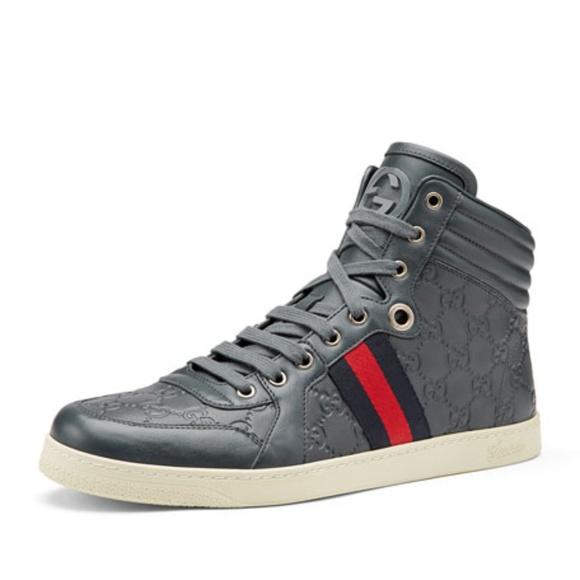 Gucci Other - Gucci Coda Guccissima High-Top Sneaker bcb66ec416e